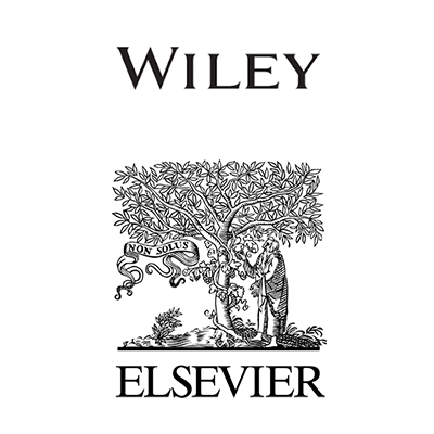 Wiley, Elsevier logos