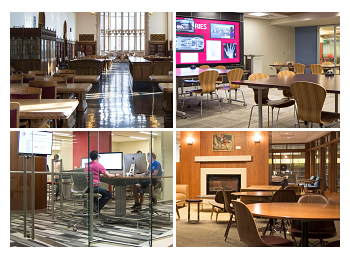 Featured Spaces in Bizzell