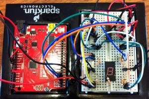 image of microcontroller circutry