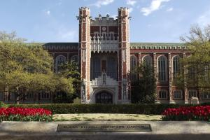 photo of Bizzell Memorial Library
