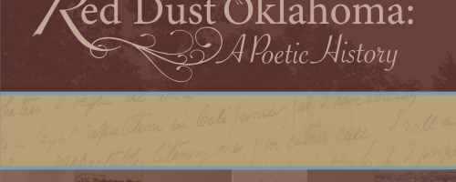 Red Dust Oklahoma: A Poetic History exhibition graphic