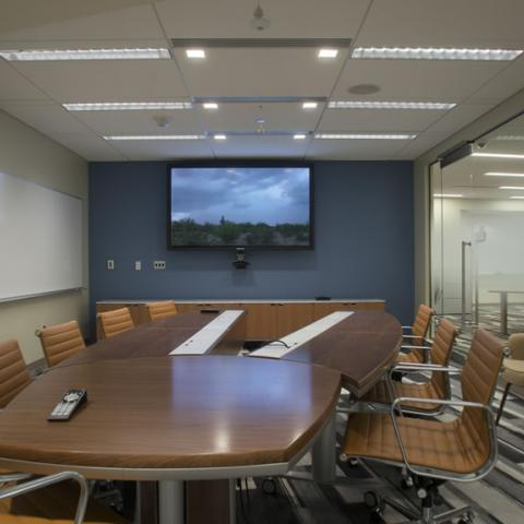 A Conference Room In The Bizzell Memorial Library