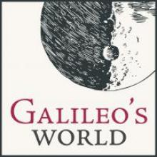 The Galileo's World exhibition logo