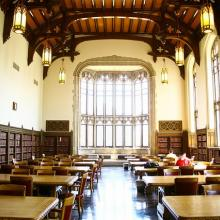 A photo of the great reading room